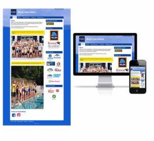 Desktop and mobile representation of Marsh Oaks Makos website